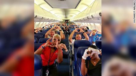 A group of health care workers are feeling the love after flying to New York to help fight the outbreak of coronavirus.