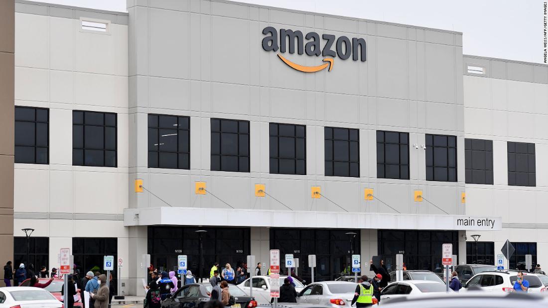 Amazon fires warehouse worker who led Staten Island warehouse walkout