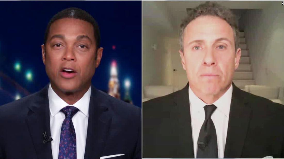 CNN Chris Cuomo und Don Lemon Meinung über die Berichterstattung von Trump