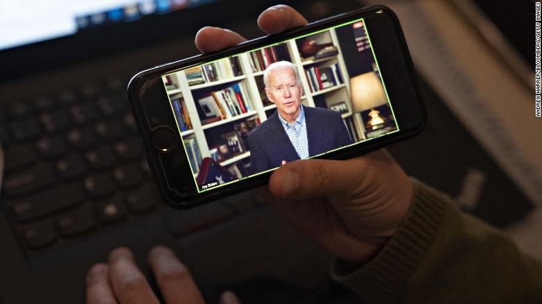 From Kennedy's kitchen to Biden's basement, candidates adapt to virtual campaigning