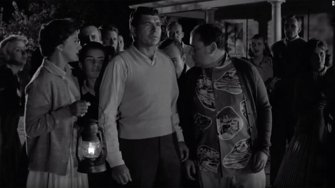 Klasik 'Twilight Zone' episode memperingatkan kita bagaimana untuk tidak berperilaku selama pandemi