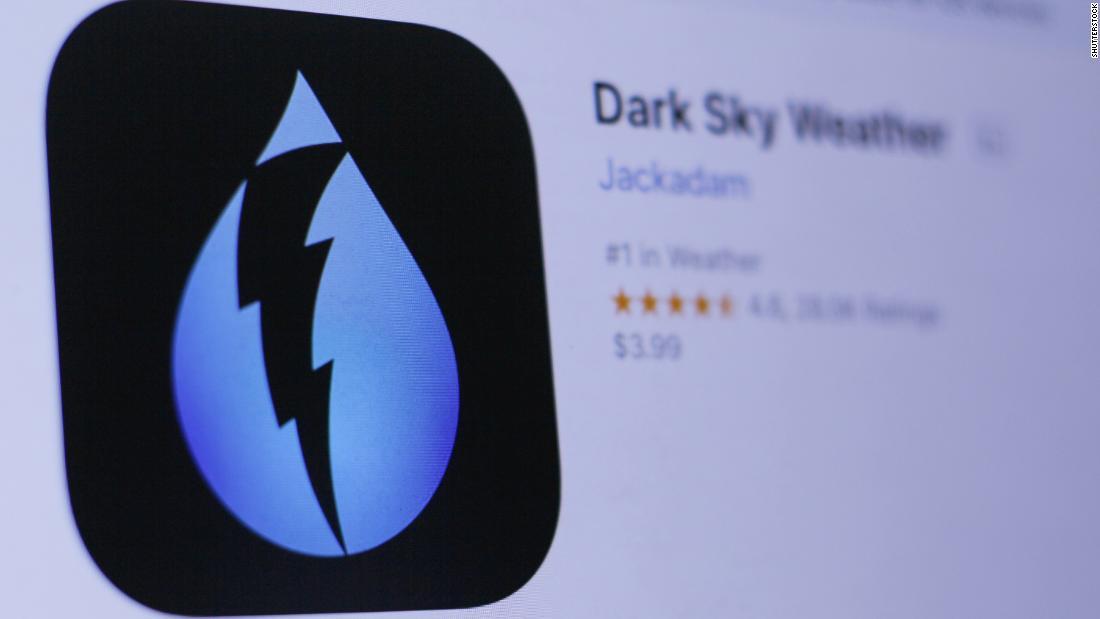 Apple mengakuisisi populer aplikasi cuaca Langit Gelap
