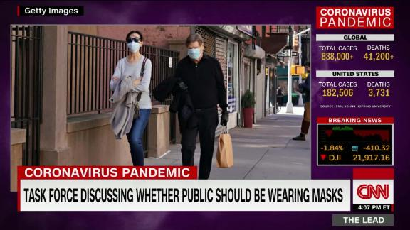 Image for Experts tell White House coronavirus can spread through talking or even just breathing