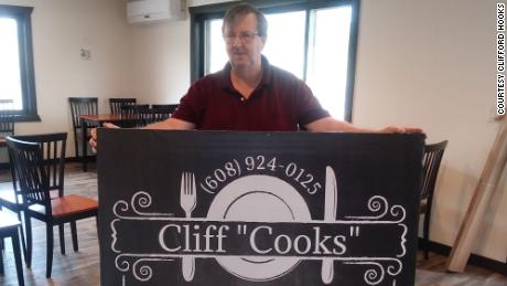"Cliff ""Cooks"" restaurant in Wisconsin has changed all of its menu prices to zero."