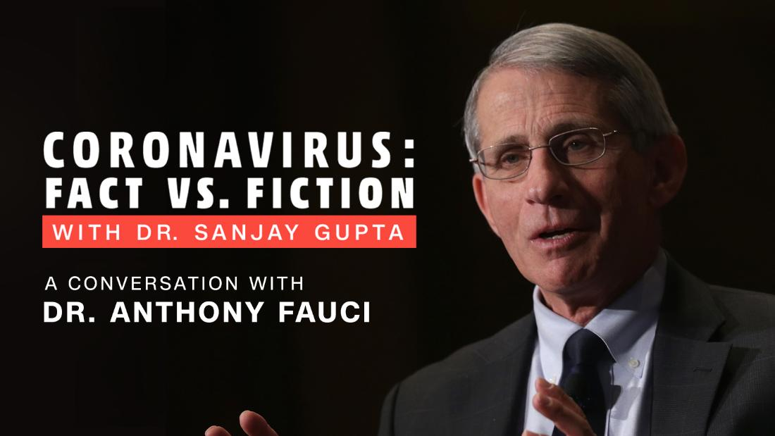 Checking in with Dr. Fauci: Dr. Gupta's podcast 4/1