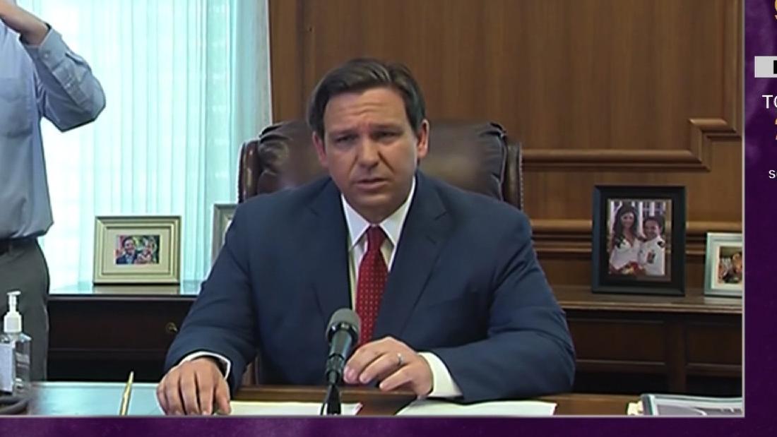 Κυβερνήτη της φλόριντα cites Τραμπ αλλάξει