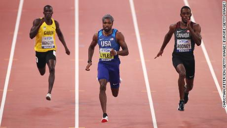 Sprinter Noah Lyles has suffered with asthma since childhood.