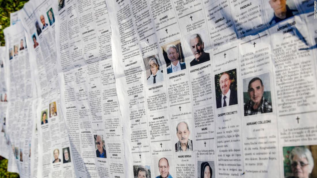 Περισσότερα από 60 κάτοικοι της ιταλίας φροντίδα των ηλικιωμένων στο σπίτι που πέθανε σε ένα μήνα