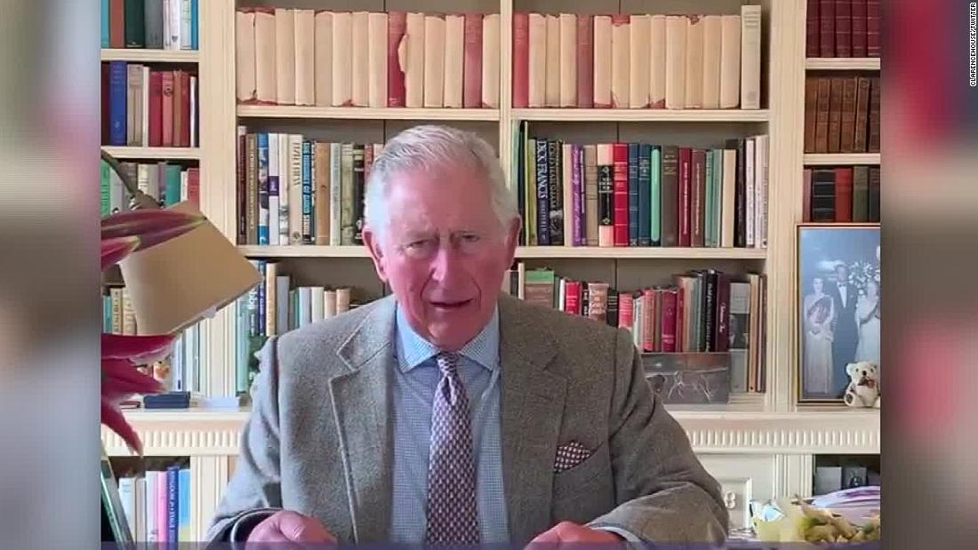 Prince Charles gives message after Covid-19 diagnosis