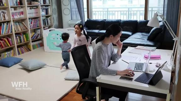 Image for Millions of dads are stuck at home — which could be a game changer for working moms