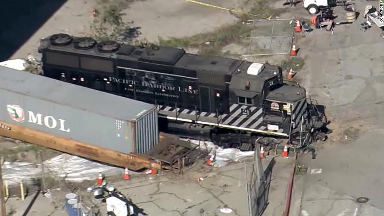 "Train derailment: Engineer said he was ""suspicious"" of nearby ..."
