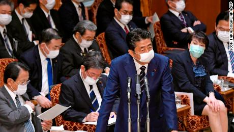 Anger as Japanese PM offers two cloth masks per family while refusing to declare coronavirus emergency