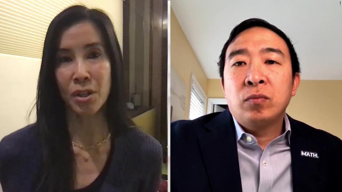 Andrew Yang: Biji coronavirus ada di China, tapi tidak untuk orang-orang