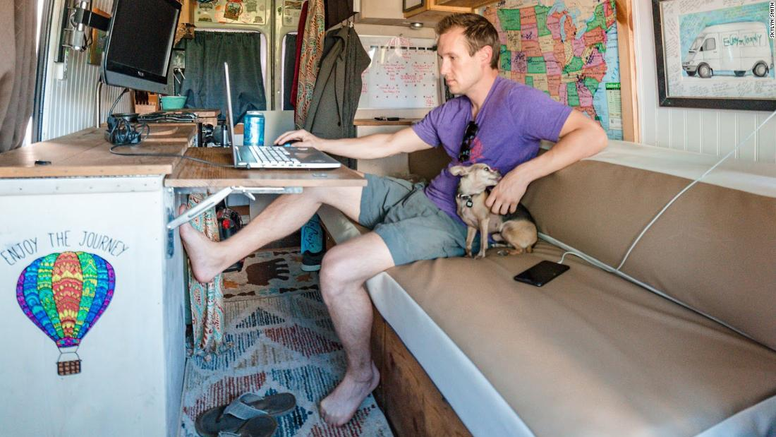 People living in vans and RVs are getting squeezed during pandemic