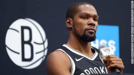 NBA returns in virtual form when Kevin Durant leads the video game tournament
