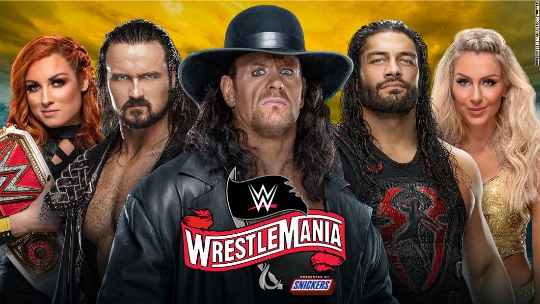 Apa yang harus diperhatikan selama dua malam dari WWE pertama penonton-free WrestleMania