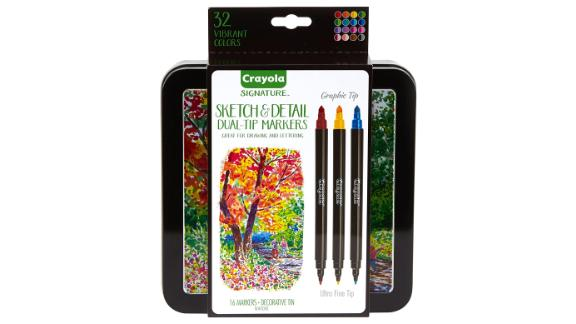 Crayola Sketch & Detail Dual-Tip Markers
