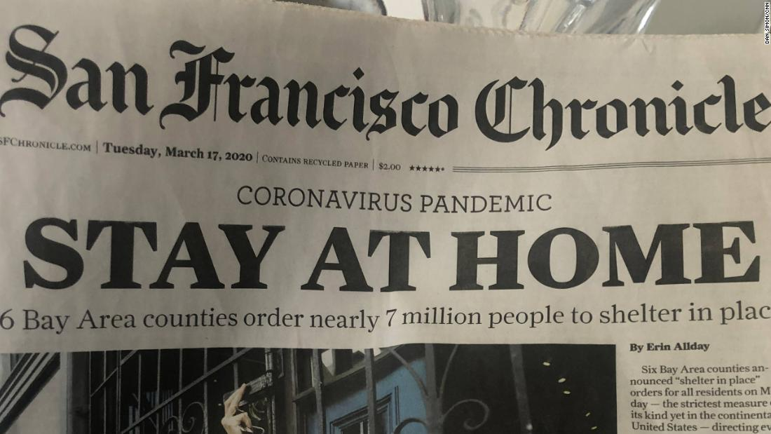California Coronavirus Three Weeks Into Lockdown San Francisco S