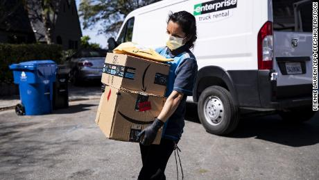 Stores are scrambling to get masks for their workers. It's no easy task