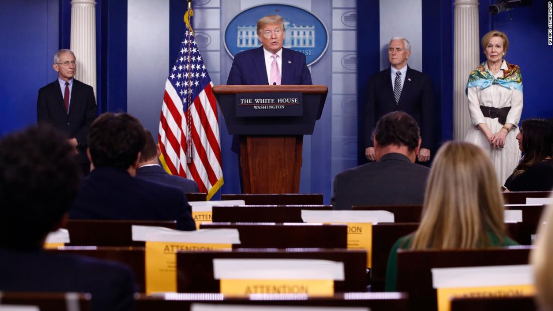Trump considering second task force on reopening economy