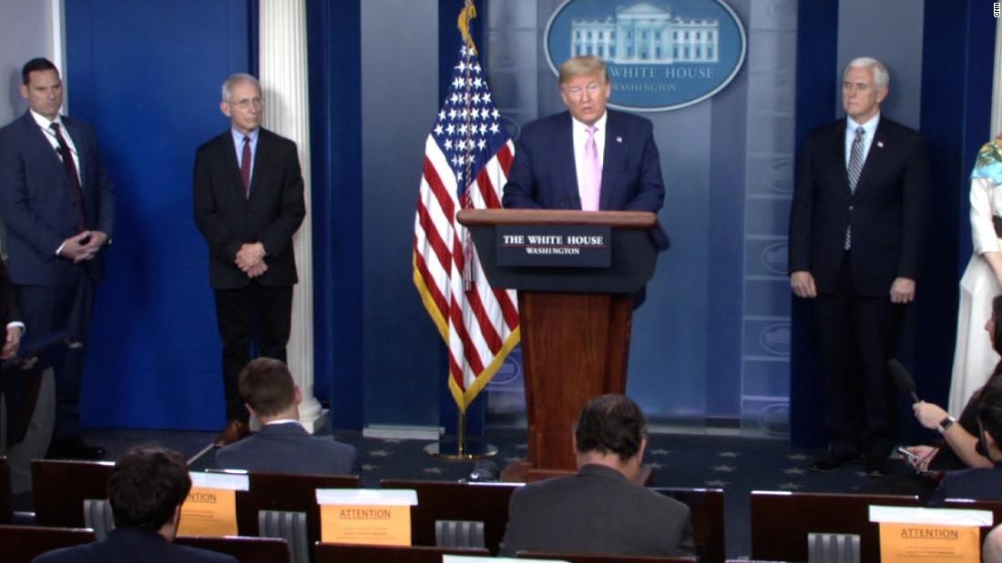 Trump pada USNS Comfort: 'Jika kami membutuhkannya untuk virus, kita akan menggunakannya untuk itu'