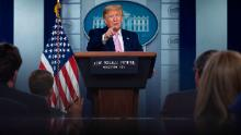 Trump suggests hydroxychloroquine may protect against Covid-19. Researchers say there's no evidence of that