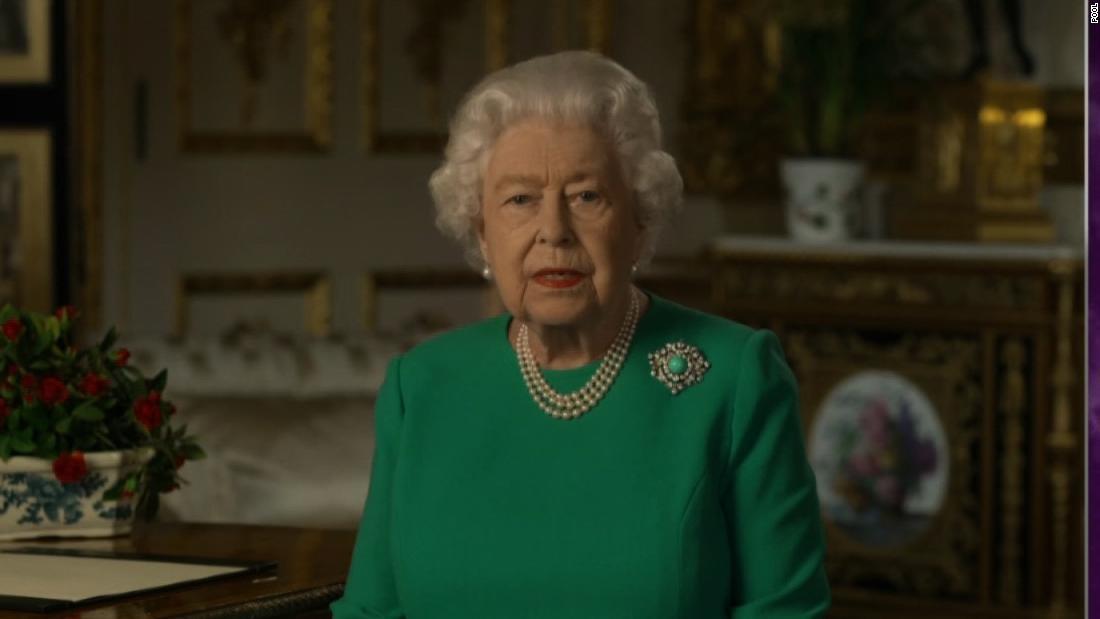 Ratu Elizabeth memberikan alamat untuk bangsa di tengah pandemi