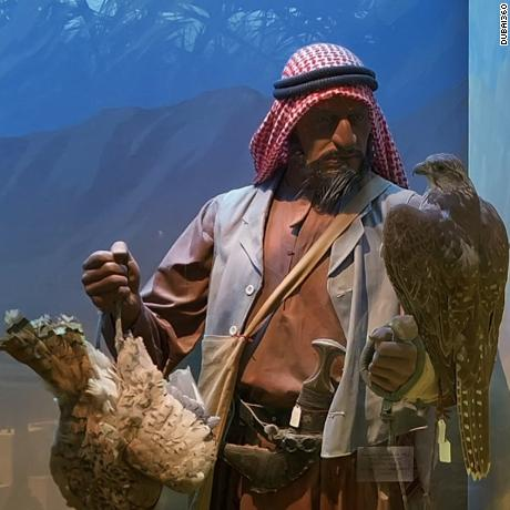 The Dubai Museum, housed in the city's oldest building, allows visitors to experience many aspects of the country's cultural heritage, such as falconry.