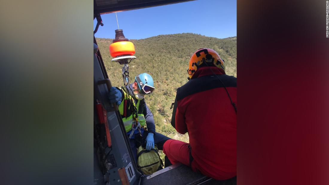 Frenchman rescued from mountains after trying to get to Spain in search of cigarettes