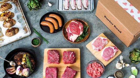 Porter Road specializes in pasture-raised meat sourced from Kentucky and Tennessee