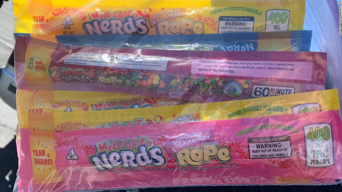 Zwei Kinder im Krankenhaus nach dem Essen THC-infundiert candy versehentlich von einem lokalen food bank
