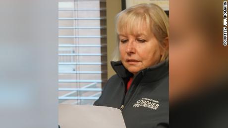 Jill Romann, the coroner in Douglas County, Colorado.