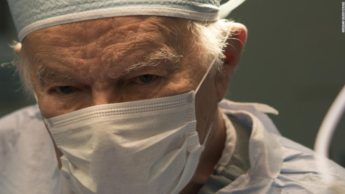 Renowned surgeon, known for his generosity and humanitarian work, asked to be buried in his scrubs