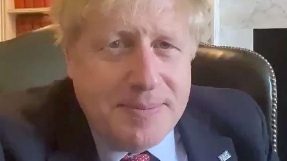 "In March 2020, Johnson announced in a video posted to Twitter that he tested positive for the novel coronavirus. ""Over the last 24 hours, I have developed mild symptoms and tested positive for coronavirus. I am now self-isolating, but I will continue to lead the government's response via video conference as we fight this virus. Together we will beat this,"" Johnson said. He was later hospitalized after his symptoms had ""worsened,"" according to his office."