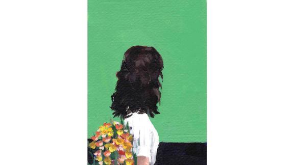 """Spring Dress"" Giclee Art Print by Clare Elsaesser"
