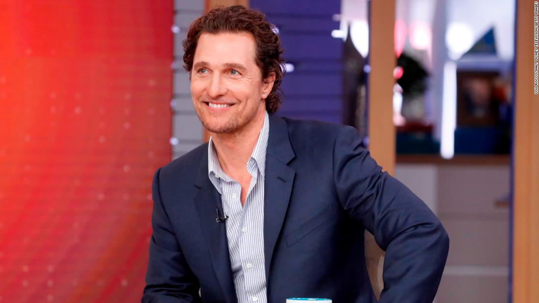 Seniors in Texas had a special guest for their virtual bingo game -- Matthew McConaughey