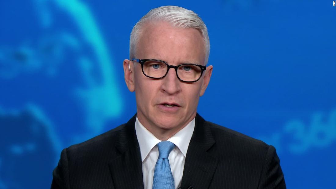 Cooper: Kami melihat Trump pembajakan konferensi pers