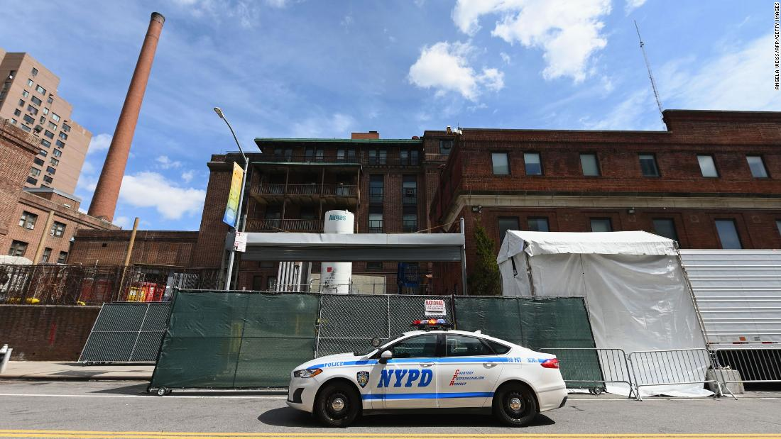 12 NYPD members have died from a suspected case of coronavirus and nearly 20% of its uniformed workforce is out sick