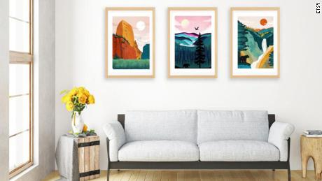 Where to buy art that will instantly brighten up your place (CNN Underscored)