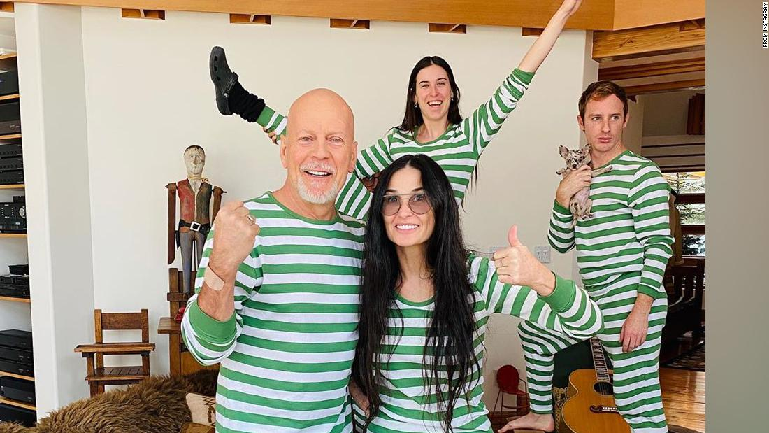 Why Bruce Willis is isolating with Demi Moore instead of wife Emma Heming Willis - CNN