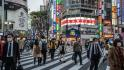 Crowds fill Tokyo streets despite state of emergency restrictions