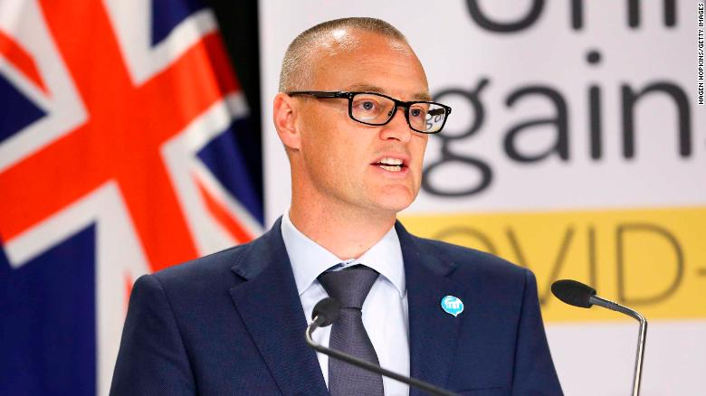 New Zealand's health minister, David Clark, has been demoted after breaching lockdown rules.