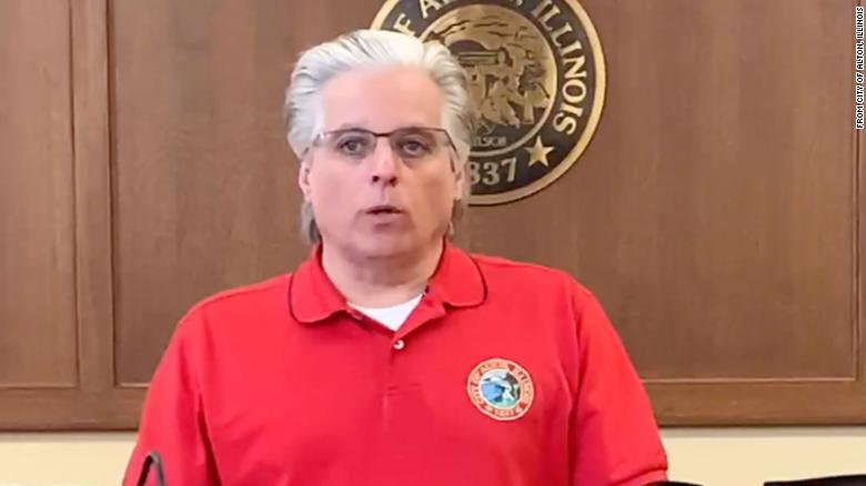 Brant Walker, the mayor of Alton, Illinois, ordered police last week to issue citations or arrests at their discretion for people violating the state's stay-at-home order.