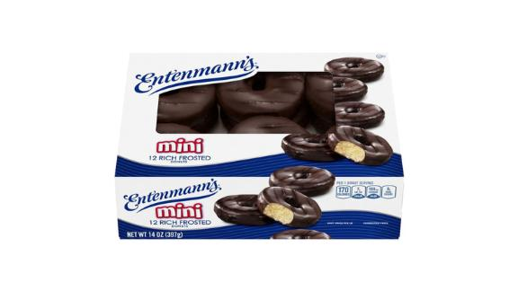 Entenmann's Mini Rich Frosted Donuts