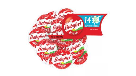 Mini Babybel Original Semisoft Cheeses, 14-count