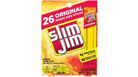 Slim Jims Original Smoked Snack Sticks, 26-count
