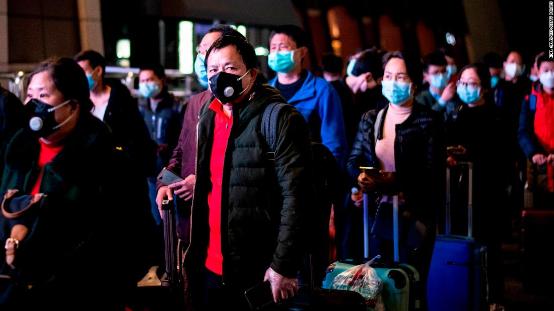 China lifts lockdown on Wuhan as city reemerges from coronavirus crisis thumbnail