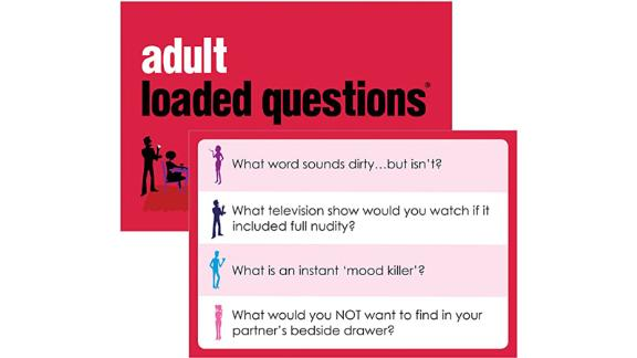 Adult Loaded Questions Game