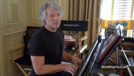 "Jon Bon Jovi told Stephen Colbert he was a ""witness to history""; his new album, ""2020,"" was inspired by pandemic lockdown and protests agains racial injustice."