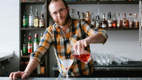 Andrew Volk had to close his cocktail bar in Portland, Maine, in mid-March and furlough his employees.